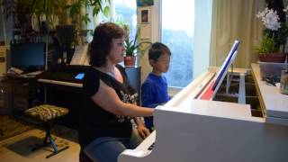 Andrew N and Lana play Sweetheart Tree by Henry Mancini