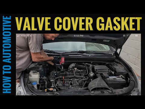 How to Replace the Valve Cover Gasket on a 2010-2014 Hyundai Sonata with the 2.0T GDI Engine