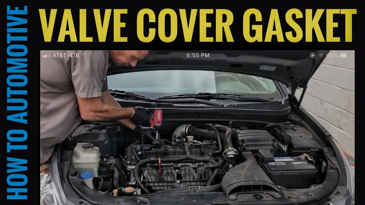 How to Replace the Valve Cover Gasket on a 2010-2014 Hyundai Sonata with  the 2 0T GDI Engine