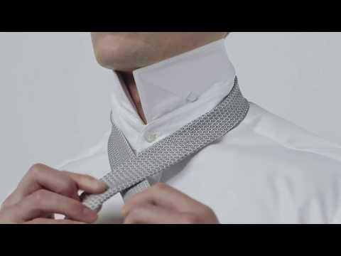 Как завязать галстук узлом полувиндзор (halfwindsor)?