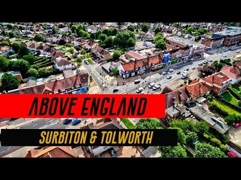 Above England: Surbiton and Tolworth