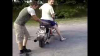 Приколы на мотоцикле