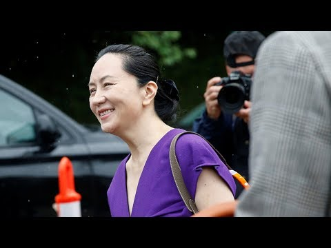 Huawei CFO Meng Wanzhou Returns To Court