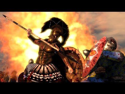 The Battle of Thermopylae Cinematic Total War Attila