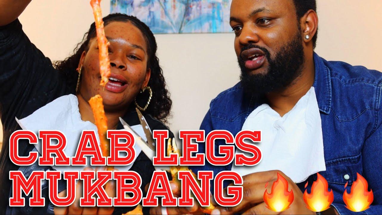 Anniversary Crab Legs Mukbang   Plus Humming Game