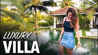 Luxury SRI LANKA Villa - RAW Vlog #5