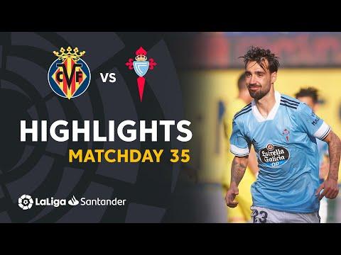 Villarreal Celta Vigo Goals And Highlights