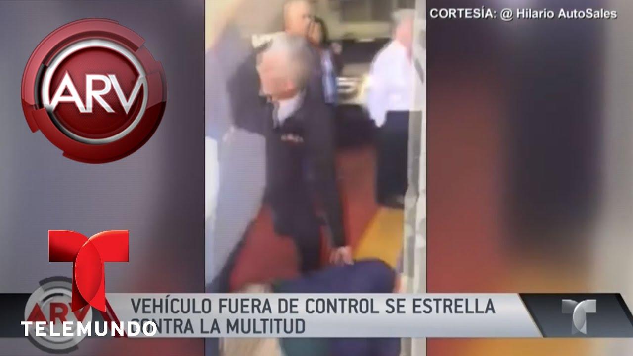 Carro fuera de control embisti a una multitud al rojo for Fuera de control dmax