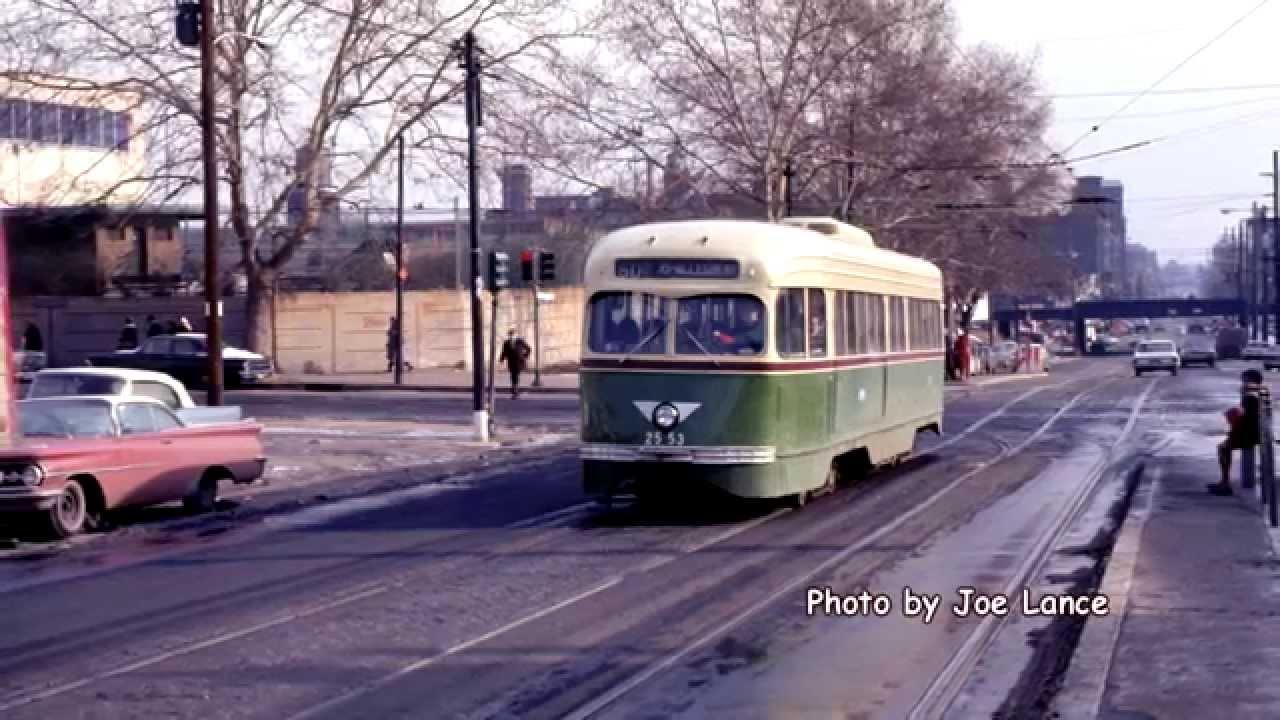 Philadelphia Trolleys 1965 Ptc To Early Septa 1969 Youtube