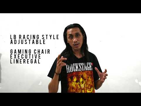 Gaming Chair LB Racing Style - LikeRegel Unpacked and Review