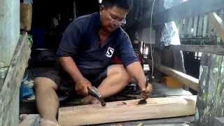 cara membuat sape orang ulu by uma sambop