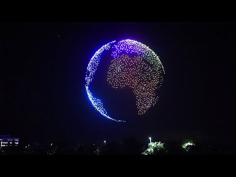 Andy Woods - Drone Fireworks - Spectacularness