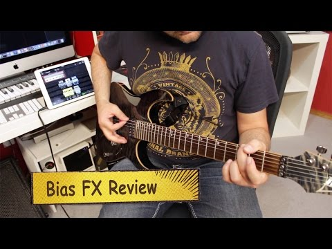 Positive Grid Bias FX iPad App Extensive Review