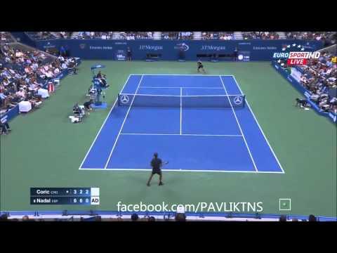 Highlights US Open 2015 - Rafael Nadal vs Borna Coric