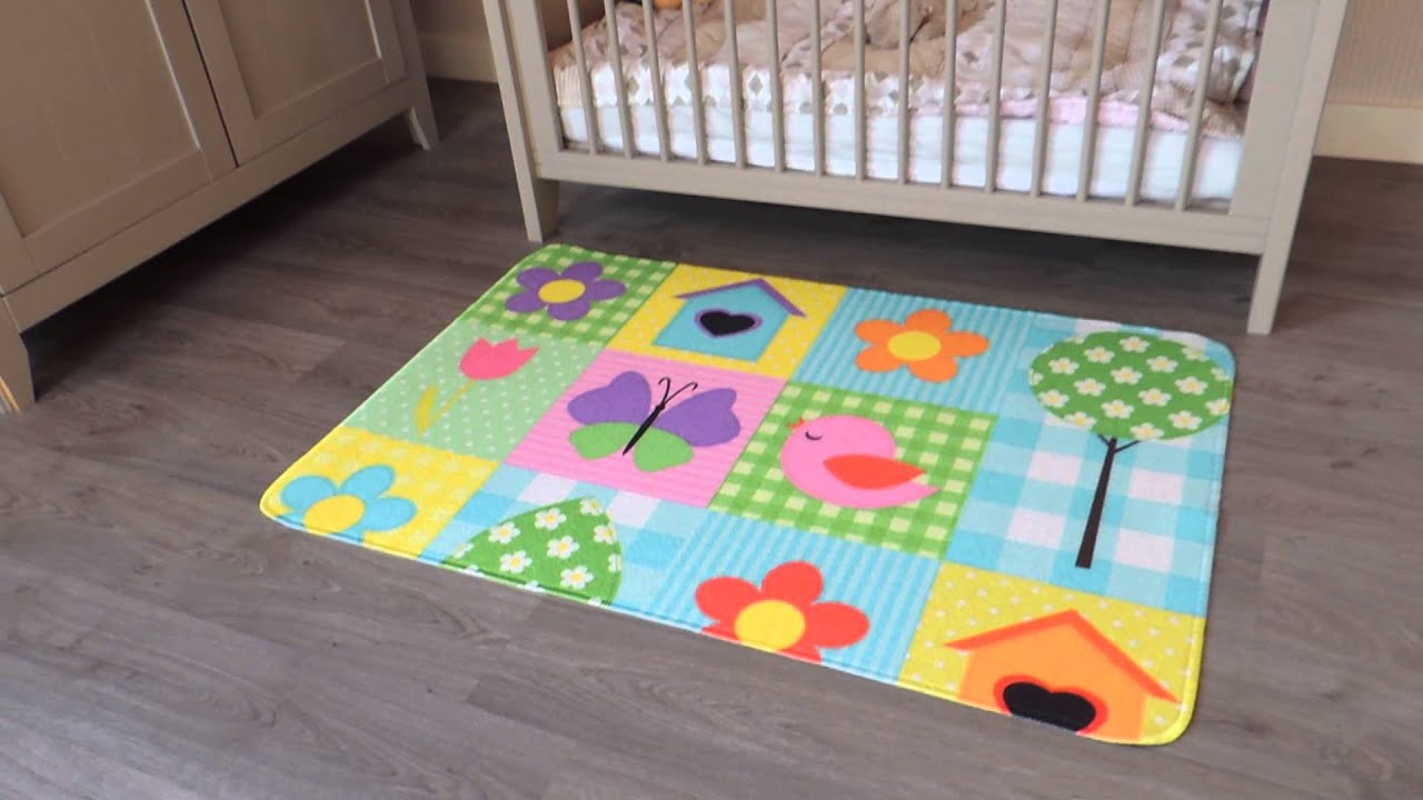 Leuk vloerkleed voor de kinderkamer vloerkleed voor de babykamer kindervloerkleed youtube - Tapijt babykamer ...