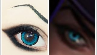 Caitlyn | Tutorial : Anime Eye Makeup 190