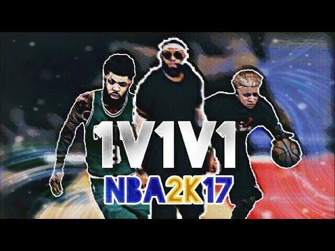 NBA 2K17 - Bz Reny Vs NyC Vs Geo - VIDEO DELIRE