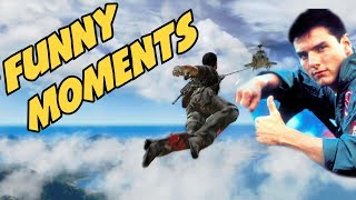 Just Cause 2 Online Funny Moments Stunts, Crashes, Boats