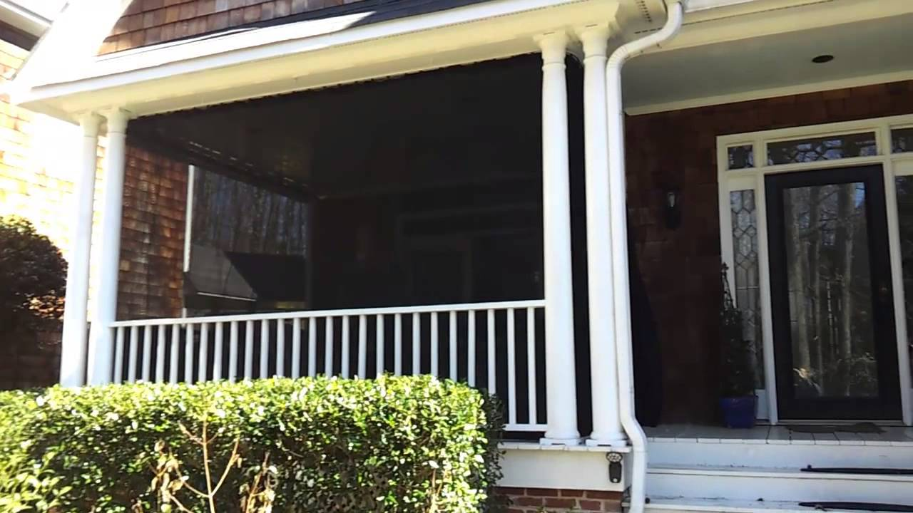 Shade / Privacy Curtains For Porch & Patio | Doovi