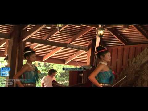 SANCTUARY OF TRUTH | TEMPLE | WOOD BUILDING | BUDDHIST | PATTAYA | THAILAND | TRAVEL TV