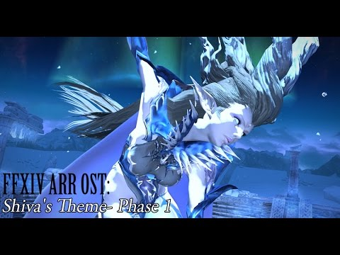 FFXIV OST Shiva Phase 1 Theme ( Footsteps in the Snow )
