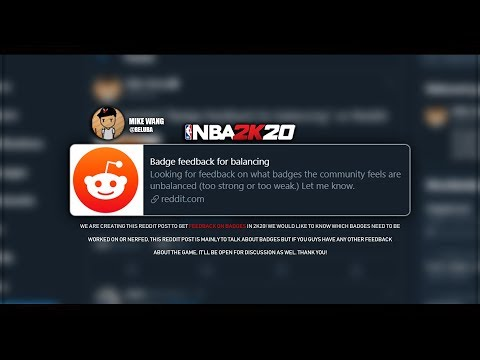 NBA 2K20 - [Confirmed] Badges will be NERFED - Dribble, Shooting & Defensive Badges!