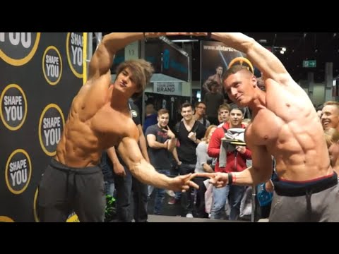 Fibo Germany 2015 w/ Jeff Seid, Alon Gabbay, Team Shapeyou, Fitness Oskar, etc