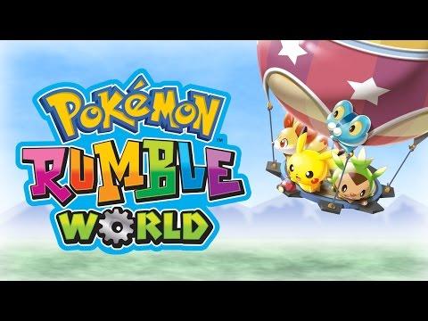Enjoy Fast-Paced Battles in Pokémon Rumble World!