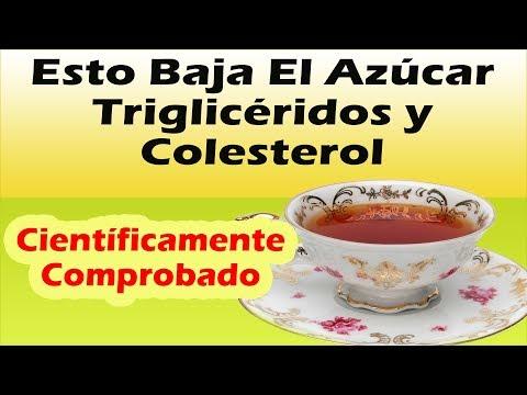 Como Bajar Los Trigliceridos y El Colesterol y Como Controlar La Diabetes Con Un Solo Remedio Casero