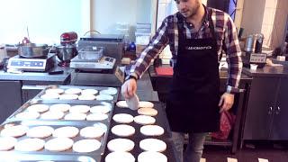 Жарка котлет для бургеров в пароконвектомате - режим жар 100%