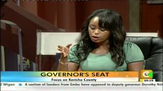 Governor's Seat: Prof. Paul Chepkwony - Kericho Governor
