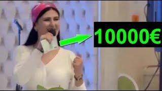 Чеченке Один Крутой  Подарили 10000€ ВОТ за эту ПЕСНЮ