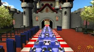 Roller Coaster Rampage Gameplay HD