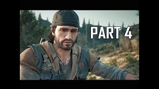 DAYS GONE Walkthrough Part 4 - Hot Springs (PS4 Pro Let's Play)