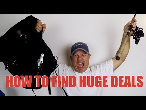 How To Get HUGE Savings on Fishing Gear, My $150 Tackle Bag for $8