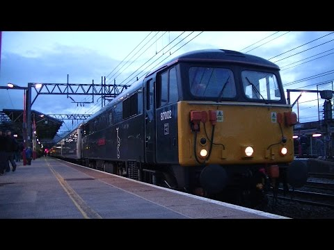 Crewe Railway Station Overnighter - 24th to 25th April 2015