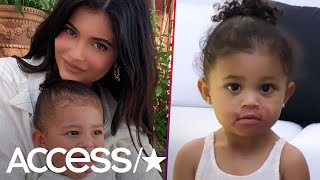 Stormi Webster Just Tried To Apply Mom Kylie Jenner's Lipstick And The R... video thumbnail