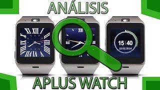 Aplus Watch GV18 , reloj inteligente con SIM, unboxing y analisis en español