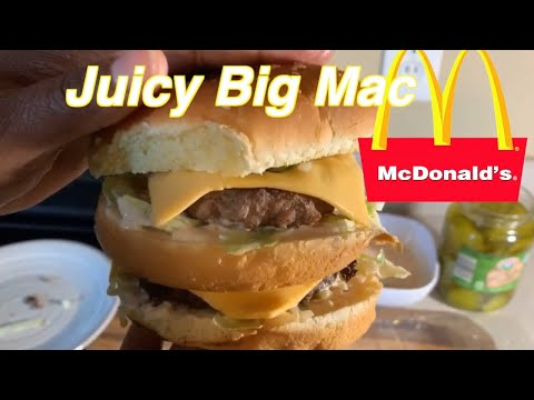 How to make a Juicy Big Mac the world famous burger