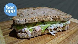 Сбалансированный диетический сэндвич