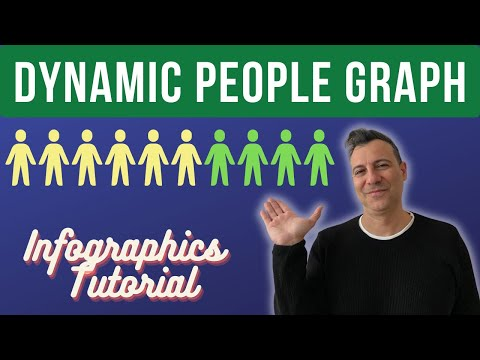 Excel Infographics Tutorial: How to create Interactive People Graph in Excel 2019
