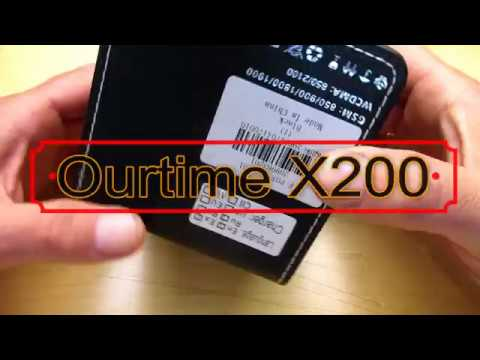Ourtime X200 3G Smartwatch and phone connection