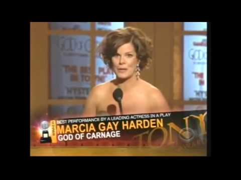 Marcia Gay Harden wins 2009 Tony Award for Best Actress in a Play