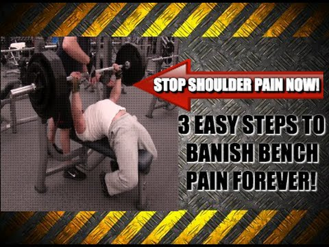 Heavy Bench Press and Shoulder Pain [How To Avoid It]