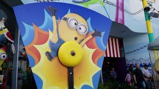 HskyArt walking in Universal Studios Hollywood Minion Fun Land HSKY 2018