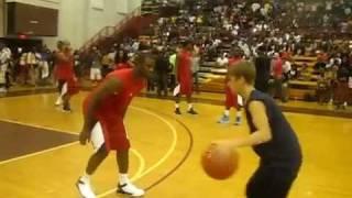 Justin Bieber v.s Chris Paul {Celebrity Basketball Game} (LUDA DAY WEEKEND)