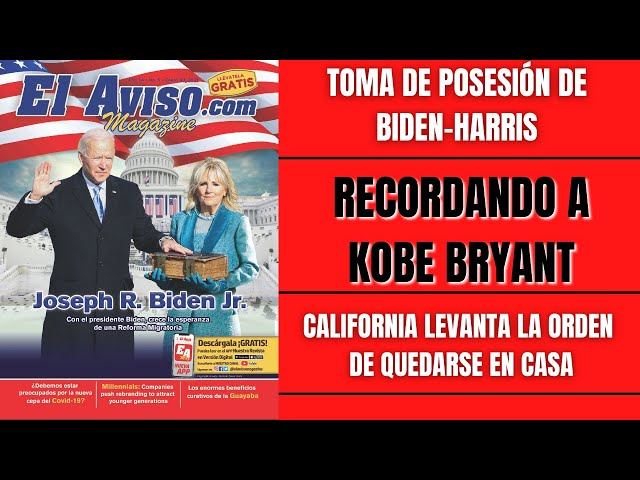 Toma de posesión Biden-Kamala, vacuna contra Covid-19, próxima pelea de Canelo - El Aviso Magazine