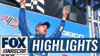 Ricky Stenhouse Jr. Wins First Career Race | 2017 TALLADEGA | FOX NASCAR