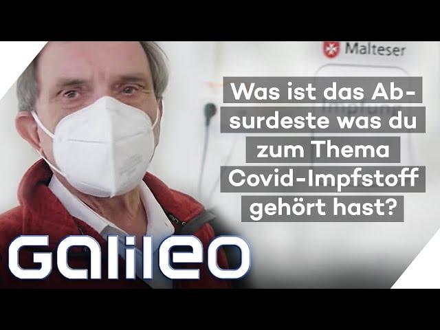10 Fragen an einen Impfzentrum-Mitarbeiter | Galileo | ProSieben