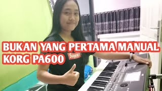 not the first 600 korg pa